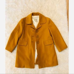 Banana Republic size XS Deep mustard / gold coat